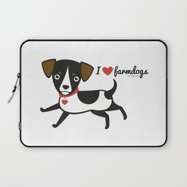 I love farmdogs Laptop Sleeve