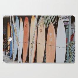 lets surf ii Cutting Board