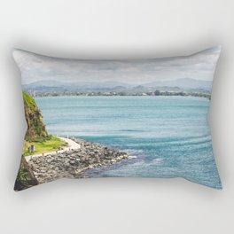 Island of Puerto Rico Rectangular Pillow