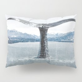 Whale In A French Lake Pillow Sham