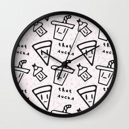 That Sucks Wall Clock