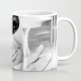 Marcello Mastroianni Portrait Coffee Mug