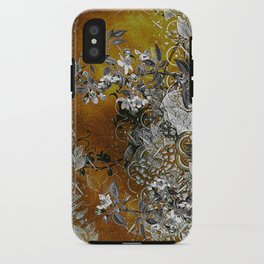 Amber Chinese Silk iPhone Case