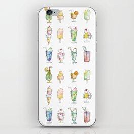 Cocktails & Ice Cream iPhone Skin