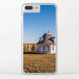 Hurd Round House, Wells County, North Dakota 11 Clear iPhone Case