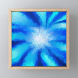 Tropical Sea Flower Framed Mini Art Print