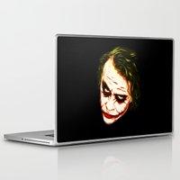 joker Laptop & iPad Skins featuring Joker by William Cuccio aka WCSmack