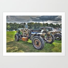 La France Speedster Art Print