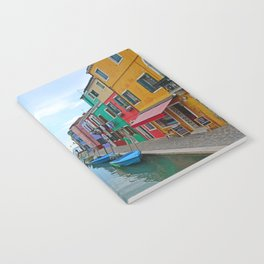 Lace Island - end of the street Notebook