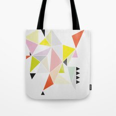 Multicolor Geometric Tote Bag