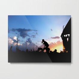 Yellowcard - Warped Tour 2012 Metal Print