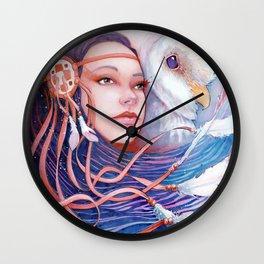 The Dreamwalker's Dawn Wall Clock