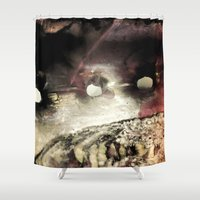 shell Shower Curtains featuring Shell by SteeleCat