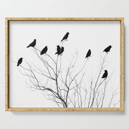 Crow Tree Serving Tray