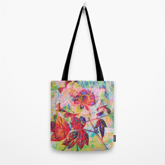 abstract anemone Tote Bag