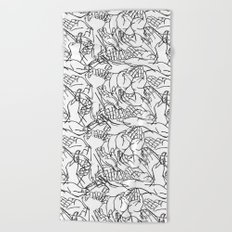 Givers and beggars Beach Towel