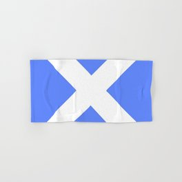 flag of scotland 4– scotland,scot,scottish,Glasgow,Edinburgh,Aberdeen,dundee,uk,cletic,celts,Gaelic Hand & Bath Towel