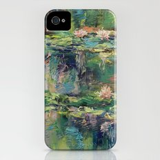 Water Lilies Slim Case iPhone (4, 4s)