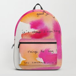 4    | Gentle Reminder Words |190826 | Backpack