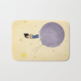 The Little Prince Of Saiyans Bath Mat