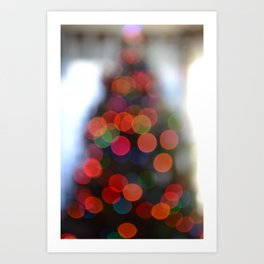 Tree of Lights Art Print