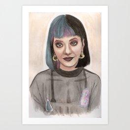 MelanieMartinez Art Print