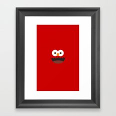 Elmo Framed Art Print