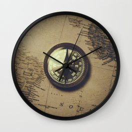 The old compass Wall Clock