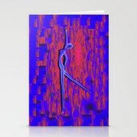 dancer Stationery Cards featuring Dancer by Christine baessler