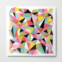 Geometric Jane Metal Print