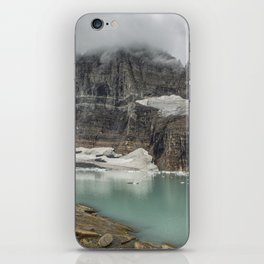 Grinnell and Salamander Glaciers, Soon Things of the Past iPhone Skin