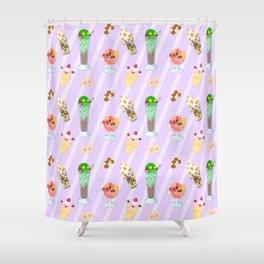 FF Frozen Treats Shower Curtain
