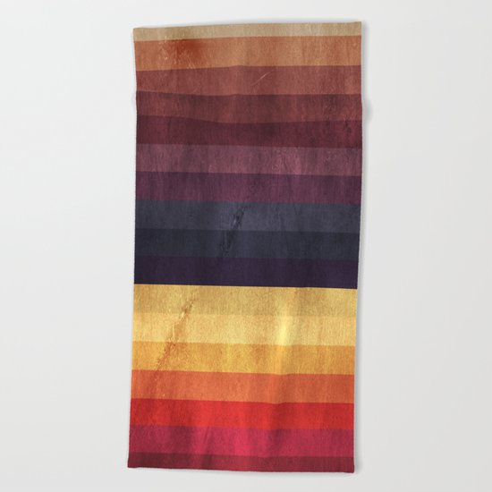 Eccentric Spectrum Beach Towel
