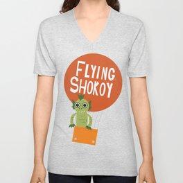 Flying Shokoy (Philippine Mythological Creatures Series) Unisex V-Neck