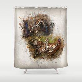 The Battle Shower Curtain