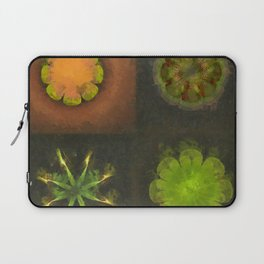 Squirm Bared Flowers  ID:16165-120806-85390 Laptop Sleeve