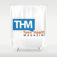 health Shower Curtains featuring Teen Health Magazine by TeenHealthMagazine