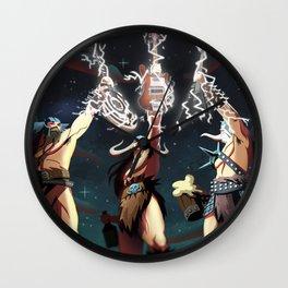 Gods of Metal Wall Clock