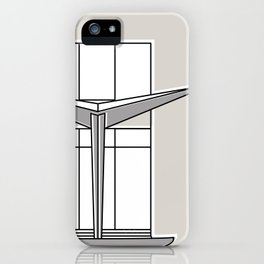 Villa Planchart -Detail- iPhone Case