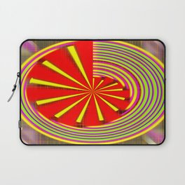 spinning abstraction Laptop Sleeve