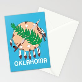 Oklahoma State Flag Stationery Cards