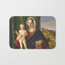 """Giovanni Bellini """"Madonna and Child (8) (1509) Bath Mat"""