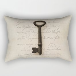 Solo Key Script Rectangular Pillow