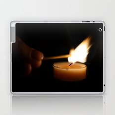 A candlelight dinner Laptop & iPad Skin
