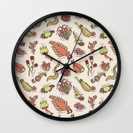 Cambrian Critters Wall Clock