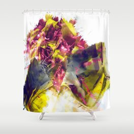 Ripped Shower Curtain