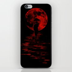 Rainman in Red iPhone Skin