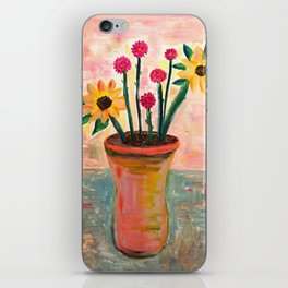 Fan's Daily life series-Happiness flowers in Palo Alto iPhone Skin