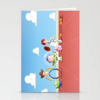 toy story Stationery Cards featuring TOY STORY by Ana Xoch Guillén