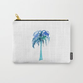 Watercolor Palm Tree Carry-All Pouch